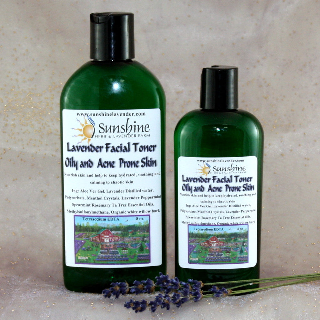Lavender Facial Toner for Oily and Acne Prone Skin