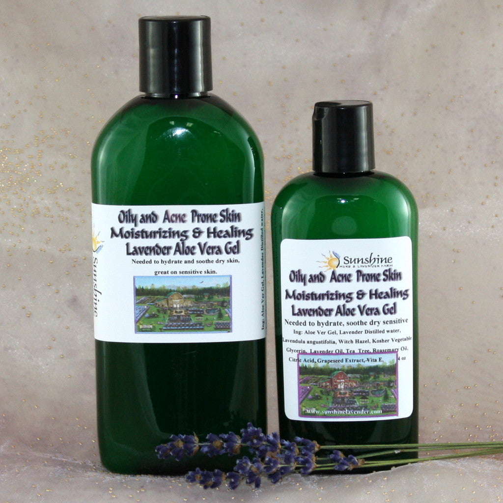 witch hazel and aloe vera for acne