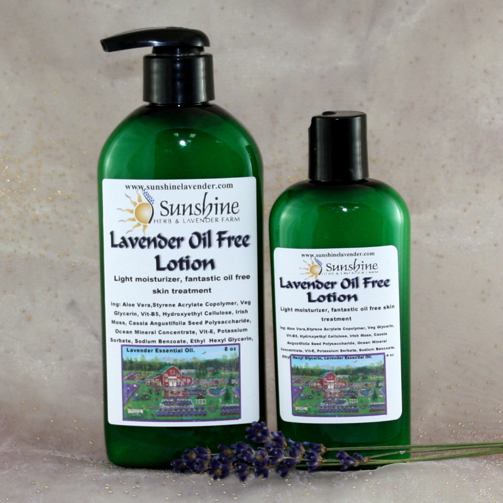 Lavender Oil Free Lotion