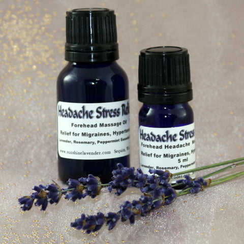 Headache Stress Relief Essential Oil