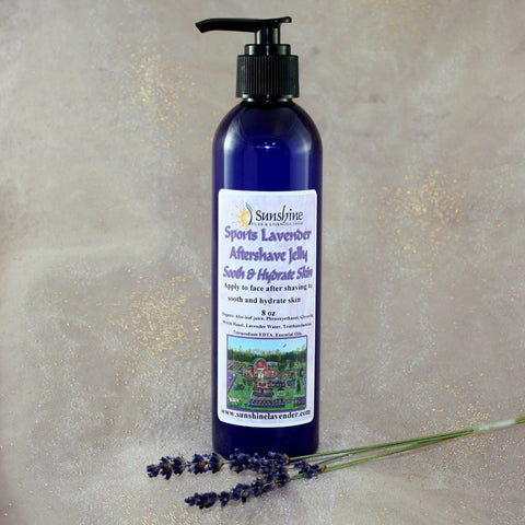 Sports Lavender Aftershave Jelly