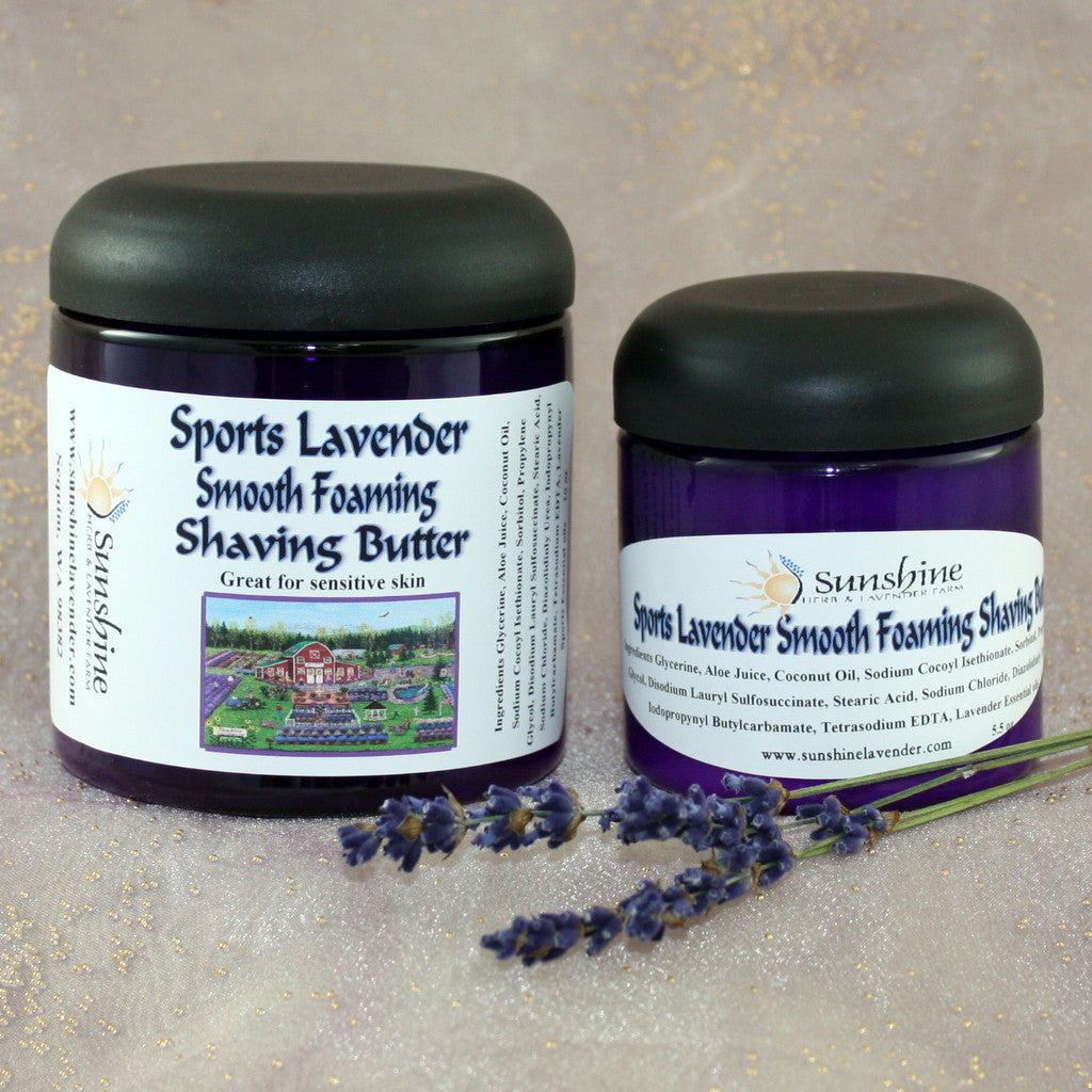 Sports Lavender Foaming Shaving Butter