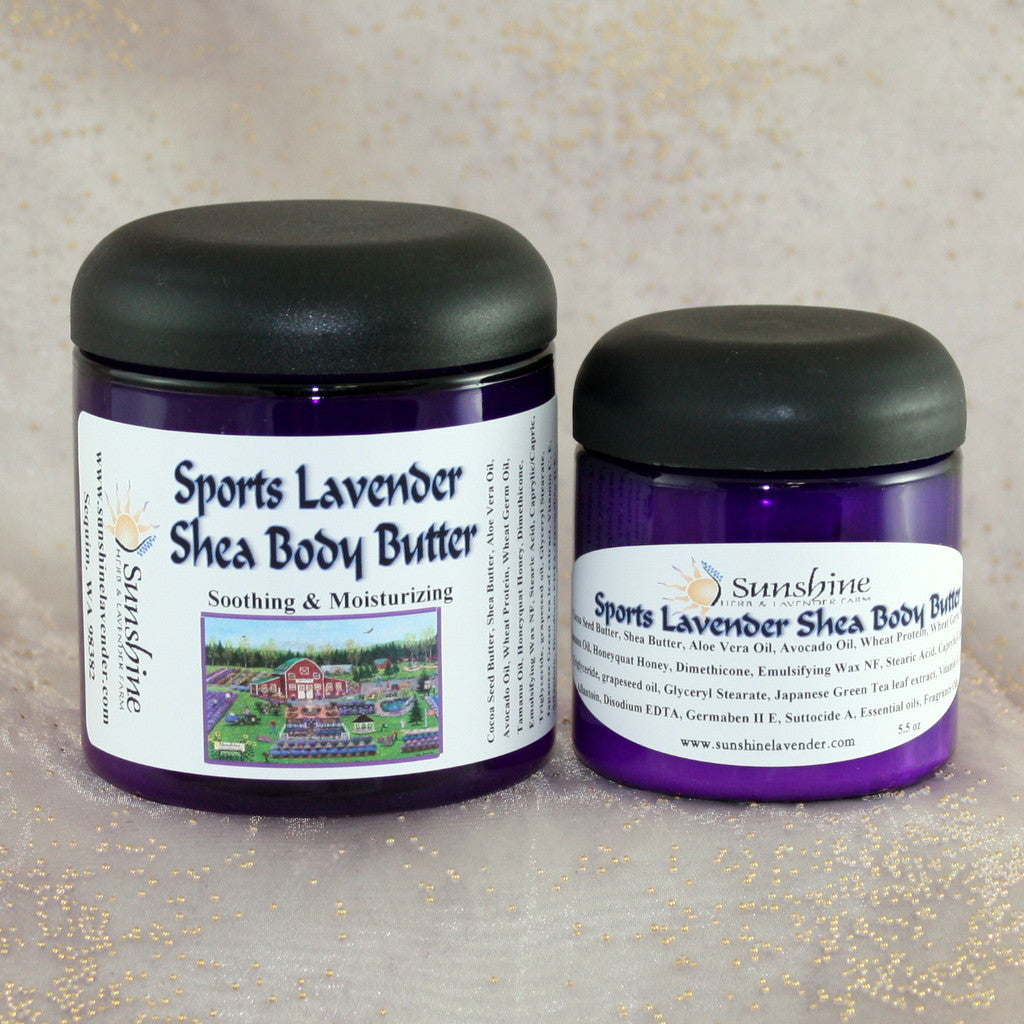 Sports Lavender Body Butter