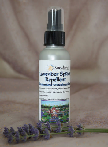 Lavender Spider Repellent