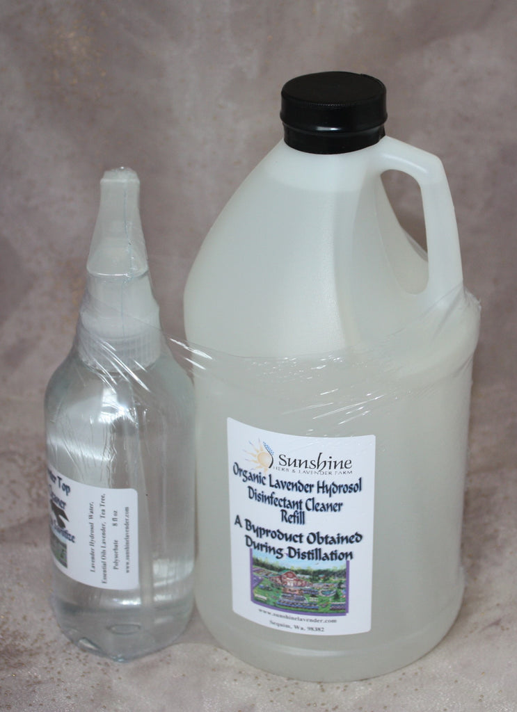 Organic Lavender Hydrosol Disinfectant Cleaner Refill