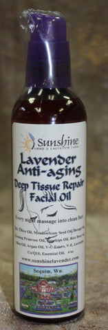 Lavender Anti Aging Deep Tissue Repair Oil