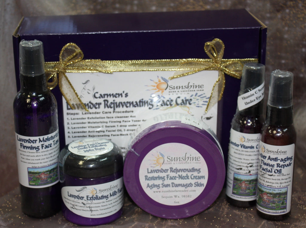 Carmen's Lavender Rejuvenating Face Care Kit
