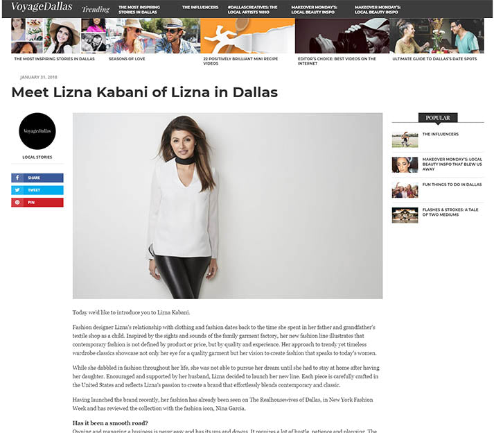 Featured On Voyage Dallas