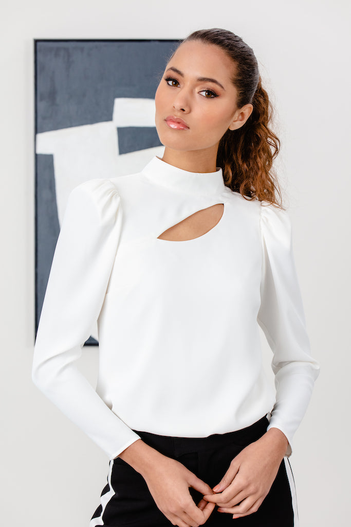 Delano Cut-out Blouse - LIZNA
