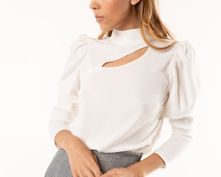 Delano Cut-out Blouse
