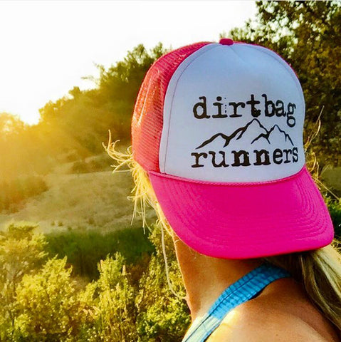 Hot Pink DBR Classic Foam Mesh Trucker Hat