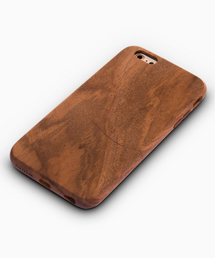 iPhone cover-walnut