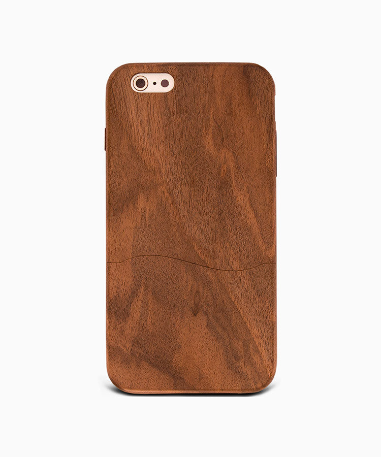 Woodsaka real wood iPhone case