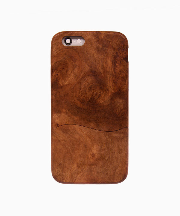 Wood-Phone-Case-Woodsaka-i6/6s-Uniq-Front-sayas