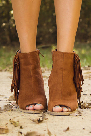 Walk The Line Booties