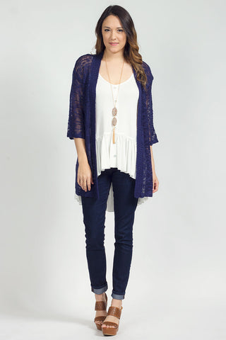 Blue Me Away Cardigan