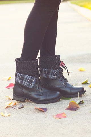 Winter Flannel Boots