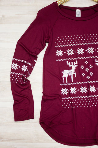Dancer & Prancer Top