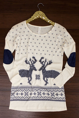 Sleigh Ride Top