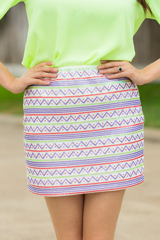 Talk Of The Town Skirt