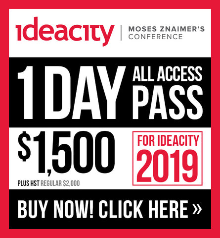 1 Day All Access Pass - ideacity 2019