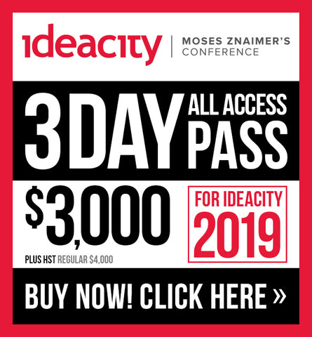 3 Day All Access Pass - ideacity 2019