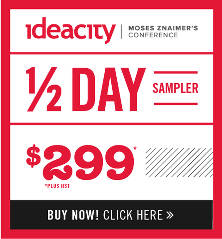 ideacity Sampler Package - Early Bird Pricing