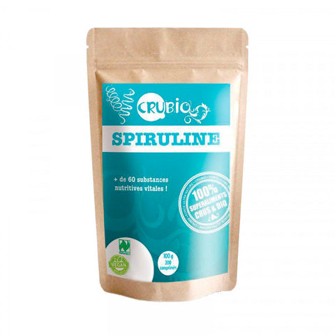 Spirulina in Compresse Naturland by CruBio - Force Ultra Nature