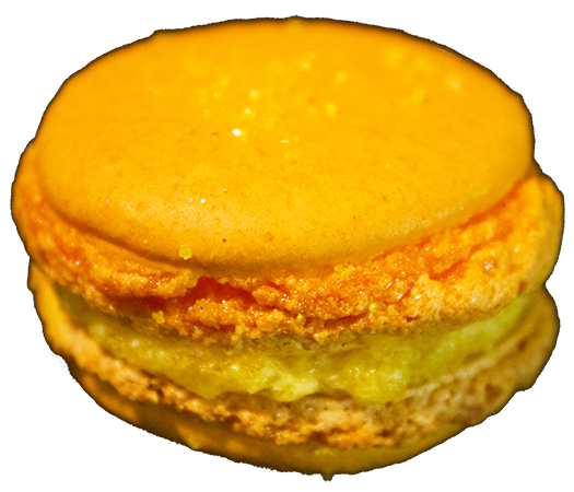 Apricot French Macarons