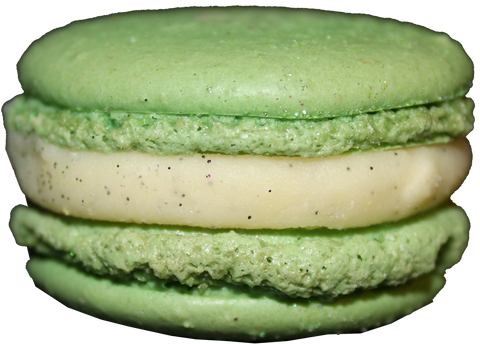Key Lime Vanilla French Macarons