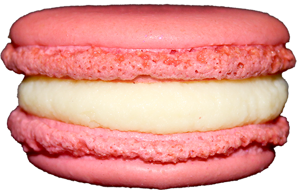 Strawberry Champagne French Macarons