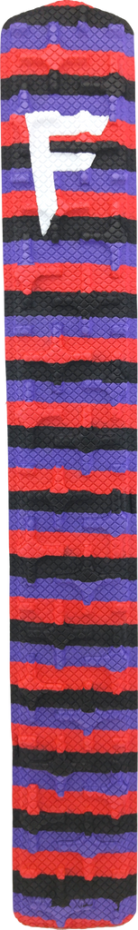 "21"" Red/Purple/Black Stripes"