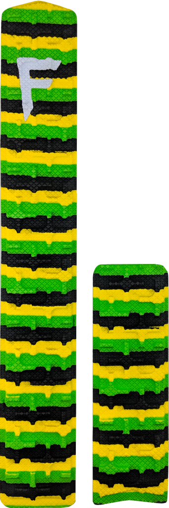 "31"" - Yellow/Green/Black Stripes"