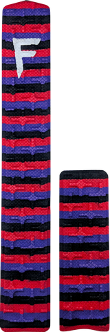"31"" - Red/Purple/Black Stripes"