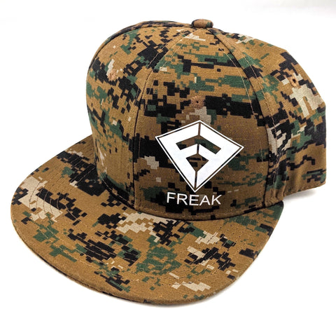 Snapback Hat - Digital Camo
