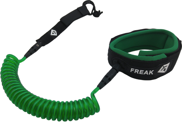 10' SUP Coiled Calf Leash - Green