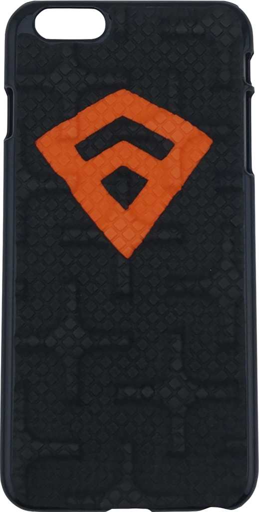 iPhone 6+ - Black/Orange