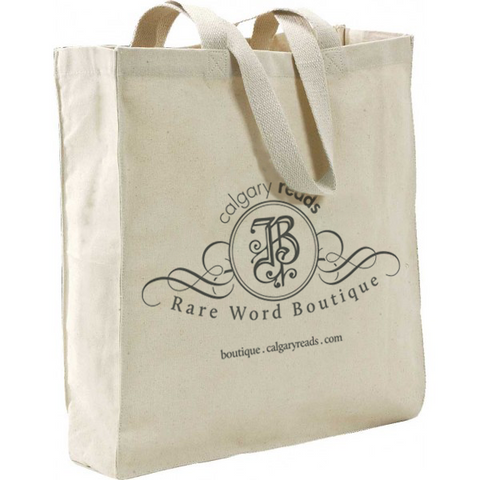 Rare Word Boutique Canvas Tote