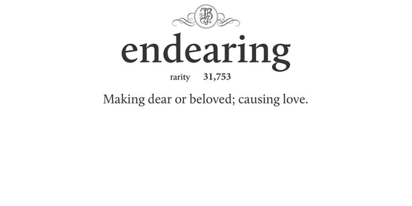 endearing
