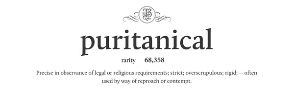 puritanical