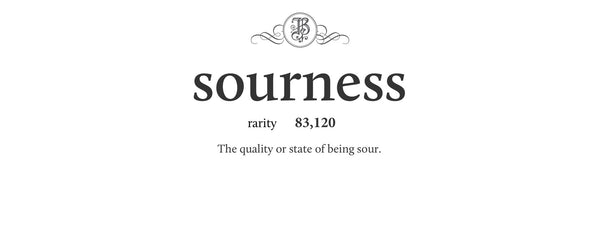 sourness