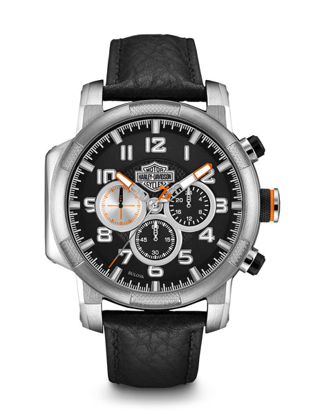 Bulova 76B172 Harley-Davidson Men's Chronograph Watch