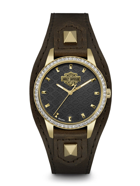 Bulova 77L105 Harley-Davidson Women's Watch