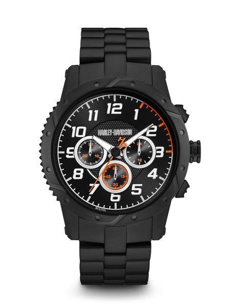 Bulova 78B138 Harley-Davidson Men's Chronograph Watch