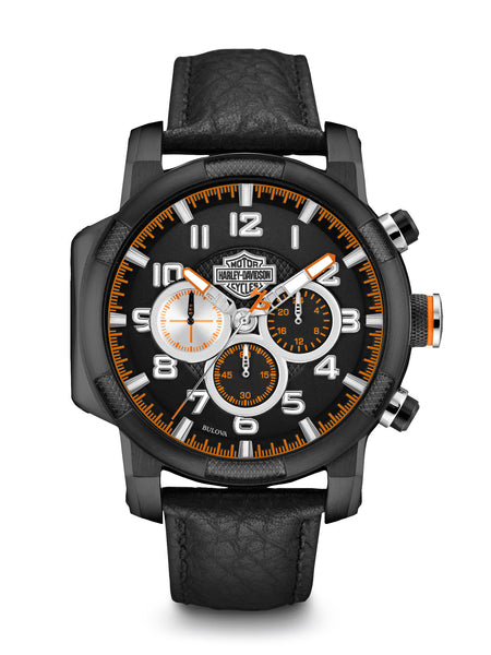 Bulova 78B139 Harley-Davidson Men's Chronograph Watch