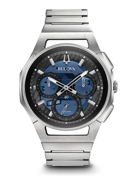 96A205 Men's Curv Chronograph Watch