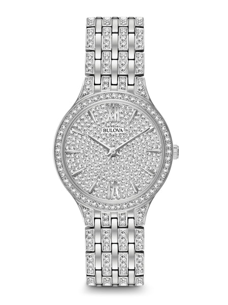 96L243 Women's Crystal Watch