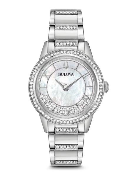 96L257 Women's Crystals TurnStyle Watch