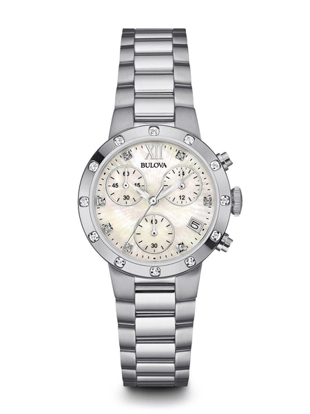 Bulova 96R202 Women's Chronogaph Watch