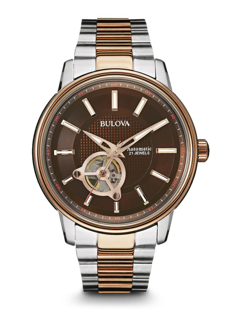 Bulova 98a140 men 39 s automatic watch bulova for Watches bulova